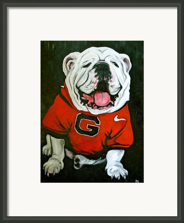 Top Dawg Framed Print By Pete Maier