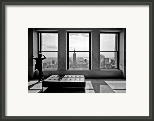 Top Of The Rock Framed Print By Thomas Splietker