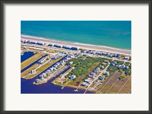 Topsail Island Observation Tower 2 Framed Print By East Coast Barrier Islands Betsy A Cutler