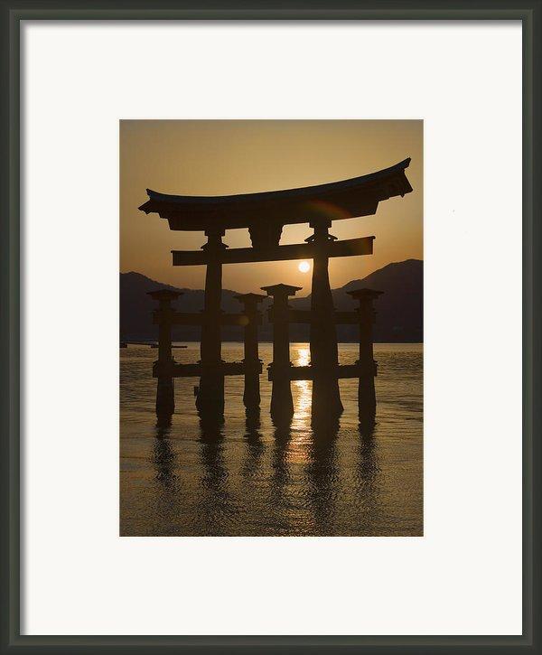 Torii Framed Print By Karen Walzer