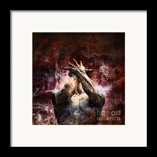 Torment Framed Print By Andrew Paranavitana
