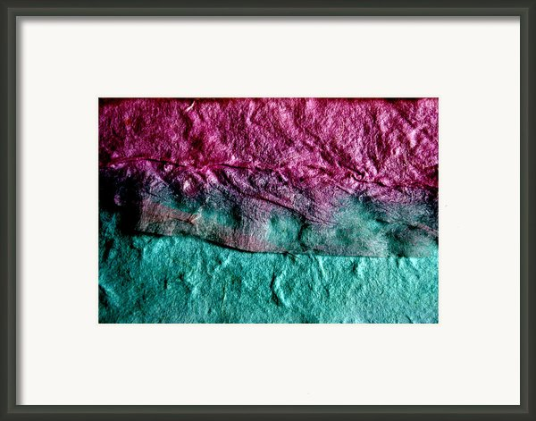 Torn Framed Print By Angelina Vick