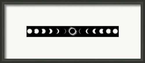 Total Solar Eclipse, 29/03/2006 Framed Print By Eckhard Slawik