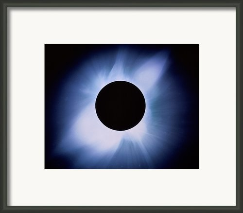 Total Solar Eclipse Framed Print By Rev. Ronald Royer