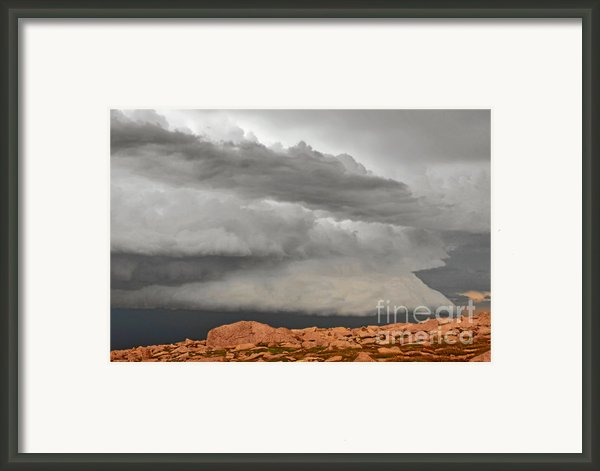 Touch The Clouds Framed Print By Christine Till