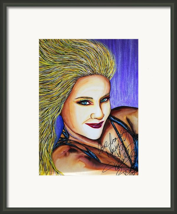 Touched Her Fun Framed Print By Joseph Lawrence Vasile