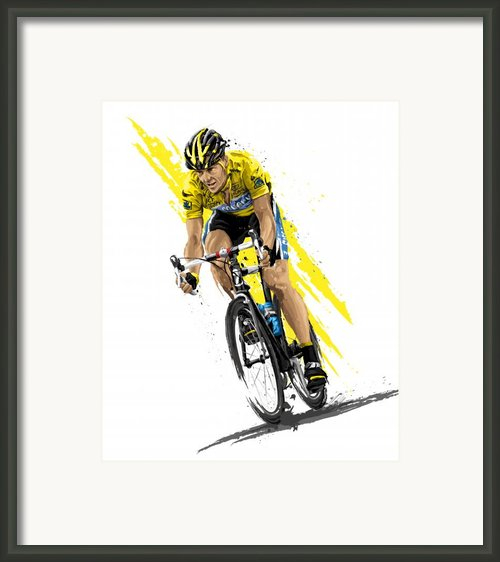 Tour De Lance Framed Print By David E Wilkinson