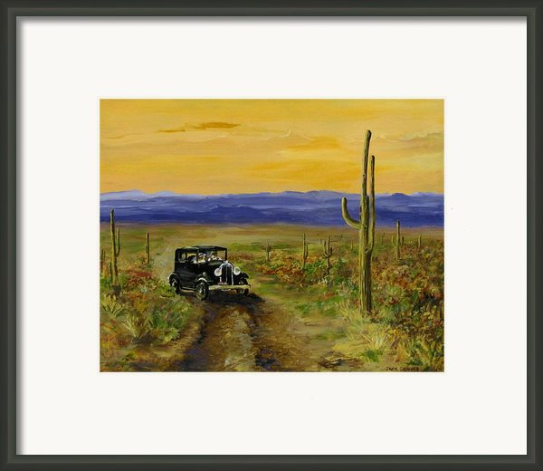 Touring Arizona Framed Print By Jack Skinner