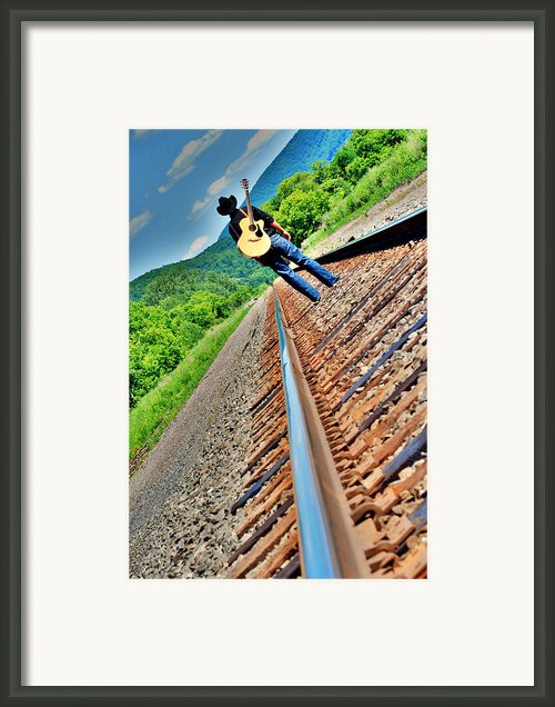 Track Less Traveled Framed Print By Emily Stauring
