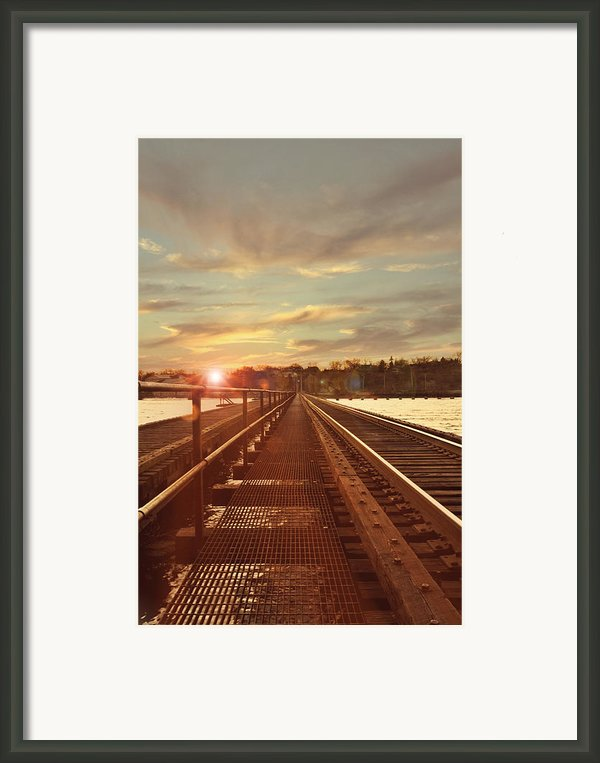 Tracks To Greatness Framed Print By Joel Witmeyer