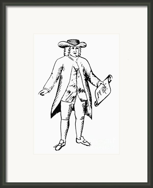 Trademark: Quaker Oats Framed Print By Granger