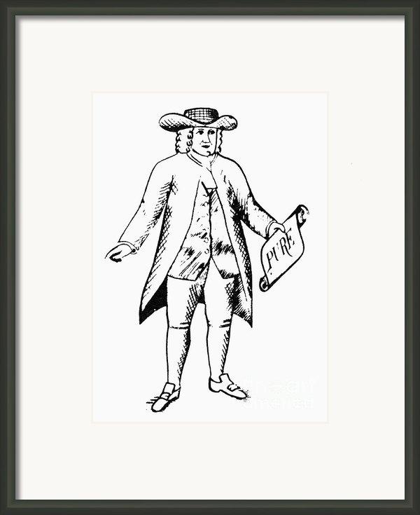 Trademark: Quaker Oats Framed Print By Granger