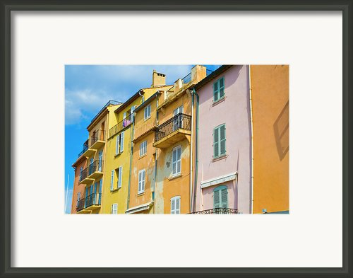 Traditional Houses Framed Print By John Harper