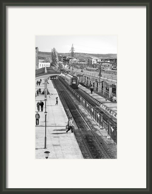 Trainstation Framed Print By Gabriela Insuratelu