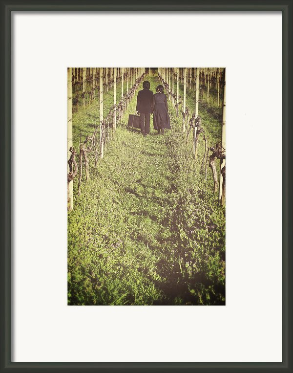 Tramps Framed Print By Joana Kruse