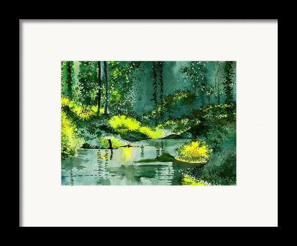 Tranquil 1 Framed Print By Anil Nene
