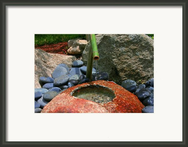 Tranquility1 Framed Print By Charles Warren