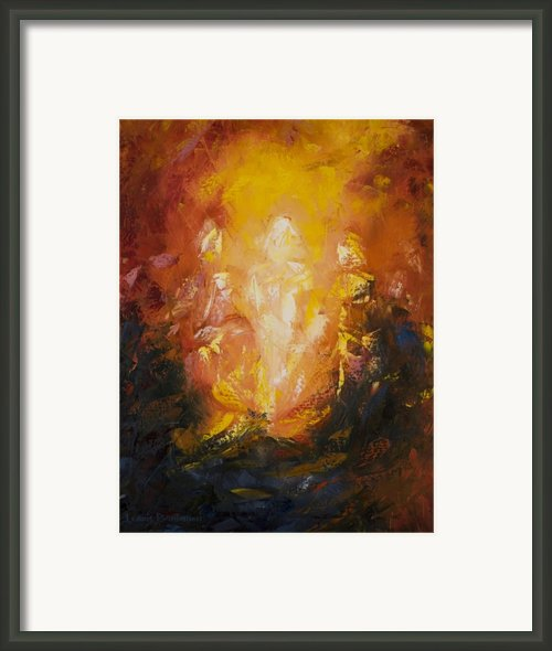 Transfiguration Framed Print By Lewis Bowman