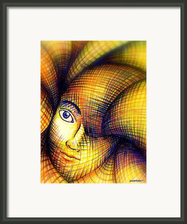 Transmutation Of The Forms Framed Print By Paulo Zerbato