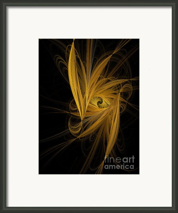 Travel In Time To 1969 Through The Nebula Framed Print By Andee Photography