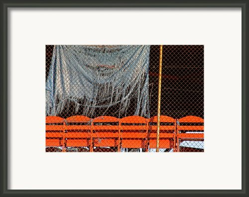 Traveler Field Forgotten Framed Print By Kenna Westerman