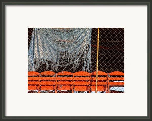 Traveler Field Forgotten Framed Print By Kenna Westerman