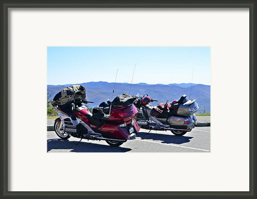 Traveling In Style Framed Print By Susan Leggett
