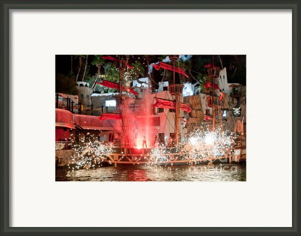 Treasure Island Pirates Framed Print By Andy Smy