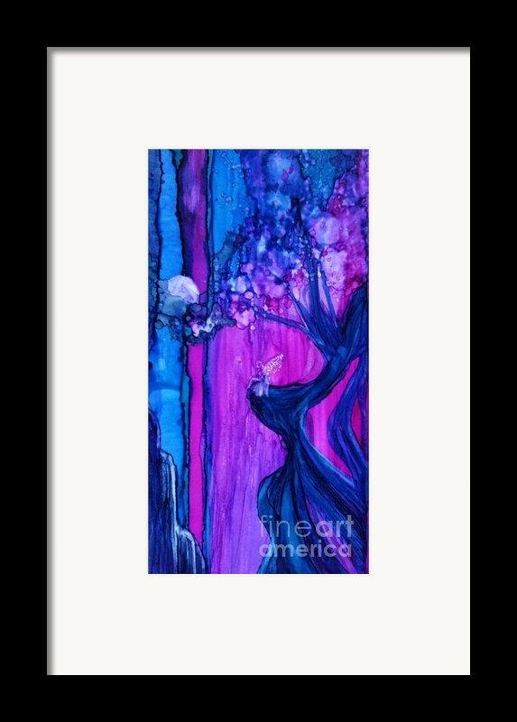 Tree Fairy Framed Print By Joyce Auteri