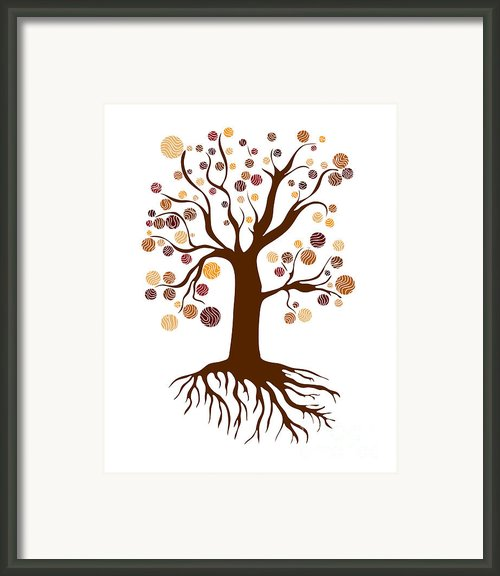 Tree Framed Print By Frank Tschakert