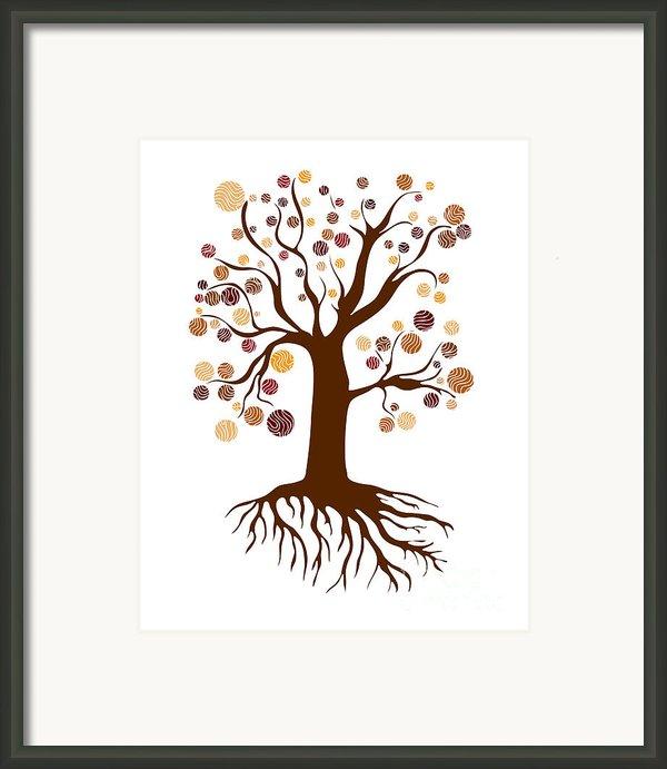 Tree Framed Print By Frank Tschakert