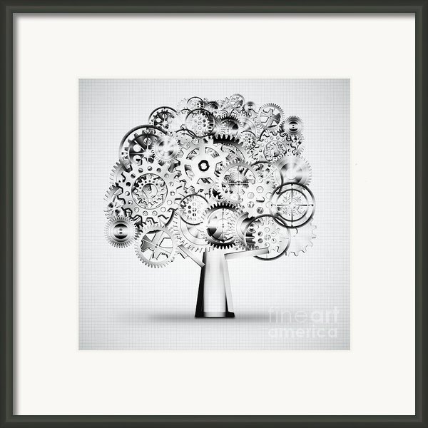 Tree Of Industrial Framed Print By Setsiri Silapasuwanchai
