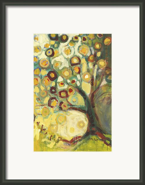 Tree Of Life In Autumn Framed Print By Jennifer Lommers