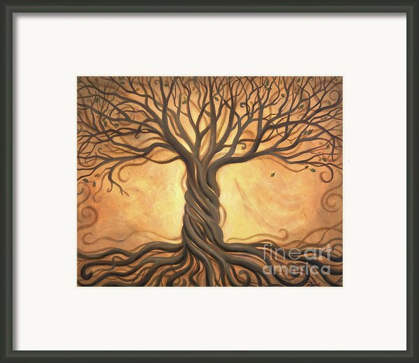Tree Of Life Framed Print By Renee Womack