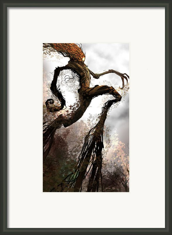 Treeman Framed Print By Alex Ruiz