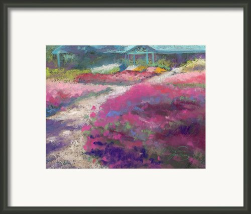 Trial Gardens In Fort Collins Framed Print By Grace Goodson