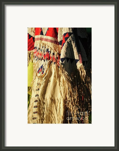 Tribal Tradition Framed Print By Susana Bonadea