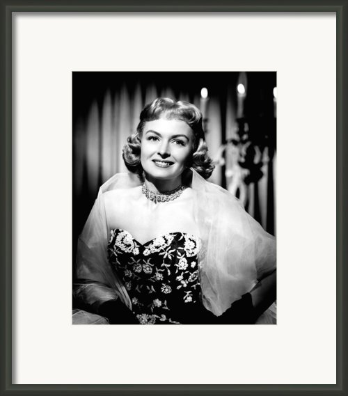 Trouble Along The Way, Donna Reed, 1953 Framed Print By Everett