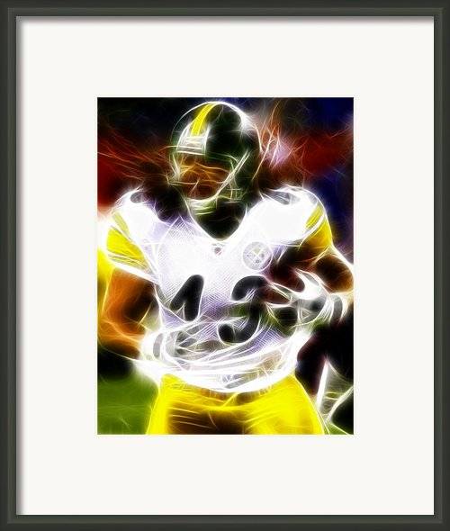 Troy Polamalu Framed Print By Paul Van Scott