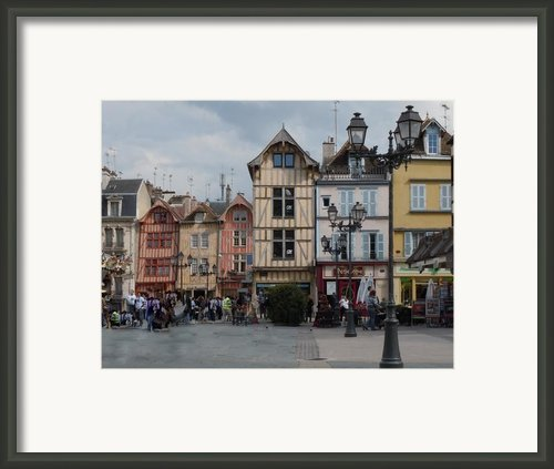 Troyes France Framed Print By Marilyn Dunlap