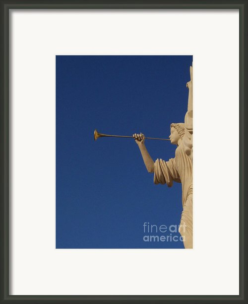 Trumpeter  Framed Print By First Star Art