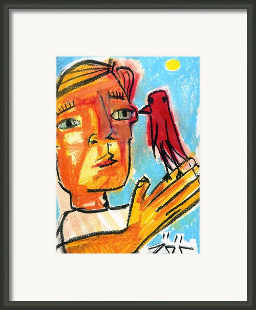 Trust Framed Print By Robert Wolverton Jr