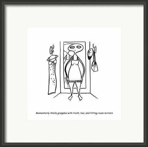 Truth And Lies Framed Print By Leanne Wilkes