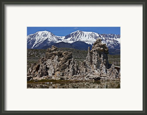 Tufa At Mono Lake California Framed Print By Garry Gay