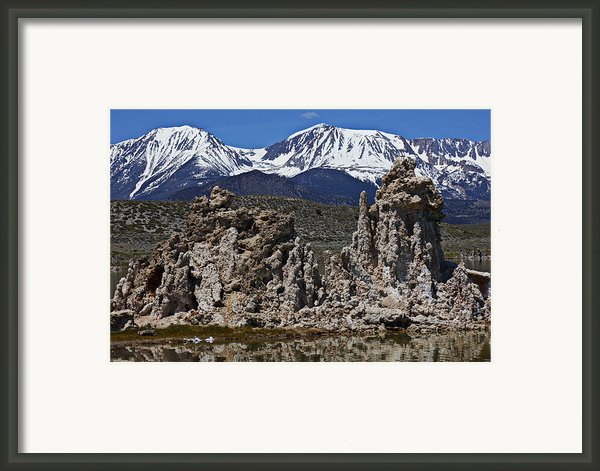 Tufa At Mono Lake California Framed Print By Garry Gay