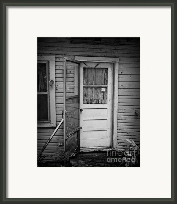 Tuff Times 2 Framed Print By Perry Webster