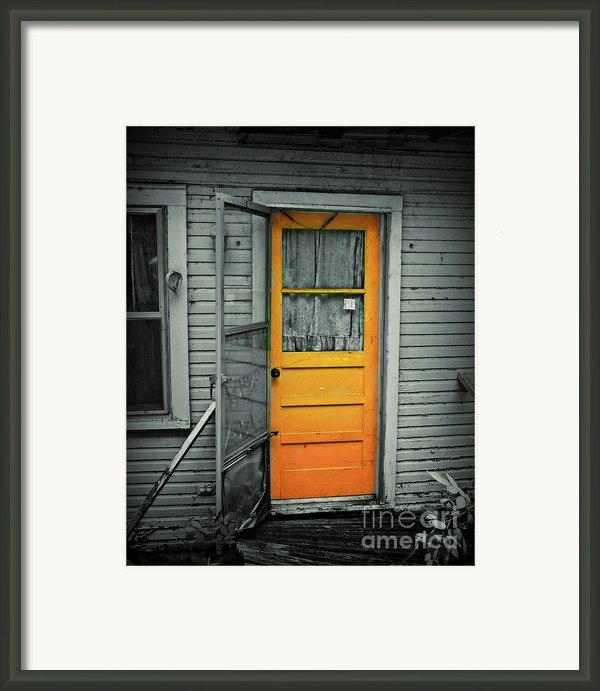 Tuff Times Framed Print By Perry Webster
