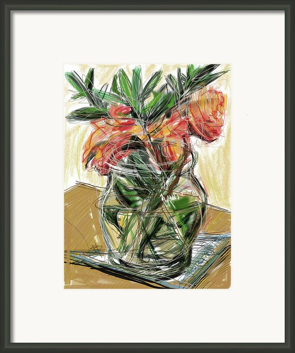 Tulips Framed Print By Russell Pierce