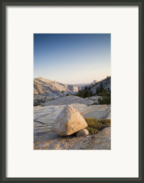 Tuolumne, Yosemite National Park, Rocks Framed Print By Dawn Kish
