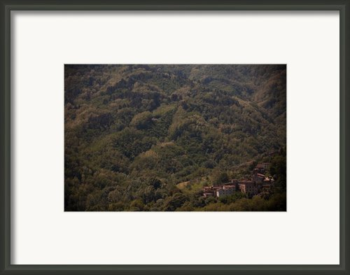 Tuscan Valley Framed Print By Steven Gray